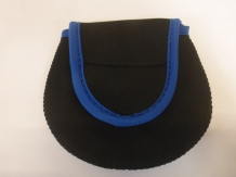 "A&M # 3/4  ""Black/Blue"" Neopreen Reelbag"